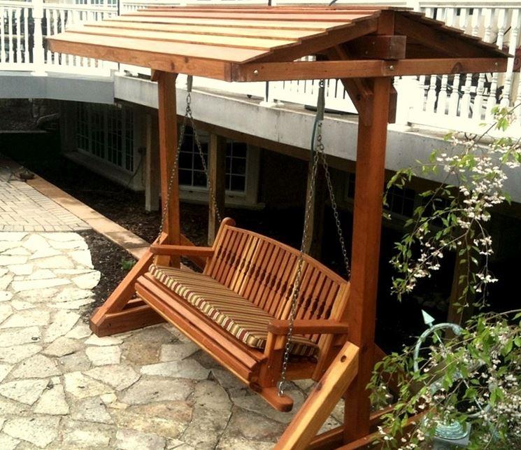 Mobili da giardino in legno - Mobili giardino - Mobili in legno per ...