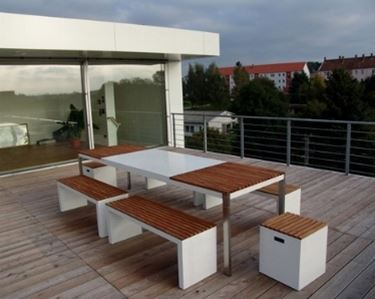 Mobili per il terrazzo