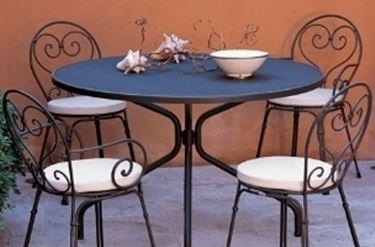 Mobili giardino in ferro battuto mobili giardino - Mobili da giardino in ferro ...
