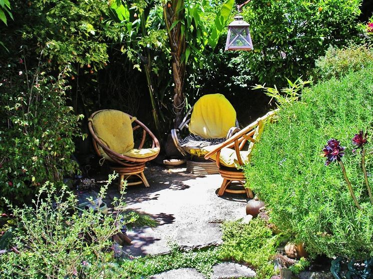 Spazio per sognare in giardino