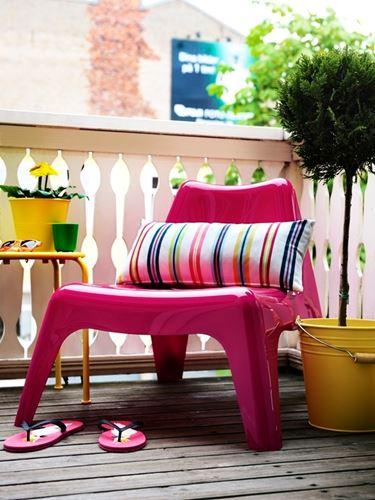 Mobili per giardino in plastica