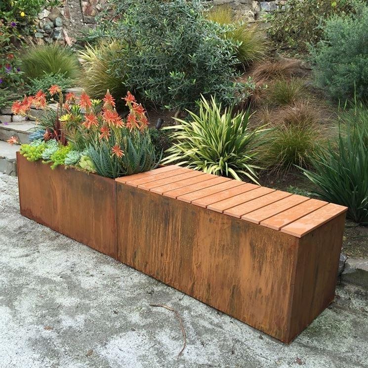 Panchine da giardino mobili giardino - Arredi per esterni design ...