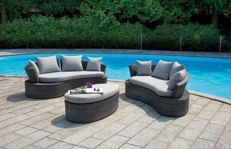 Salotti per esterno mobili giardino arredare l 39 esterno - Mobili da esterno in resina ...