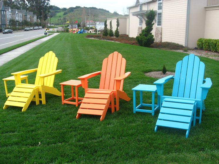 Sdraio da giardino mobili giardino for Mobili da giardino in plastica