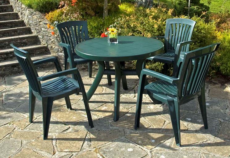 tavoli in plastica da giardino ~ ulicam.net = varie forme di ... - Mobili Da Giardino In Plastica Moderno