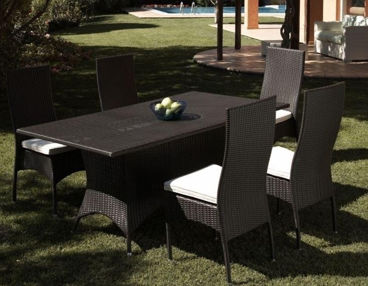 Tavoli in plastica mobili giardino tavoli in plastica for Mobili giardino rattan sintetico