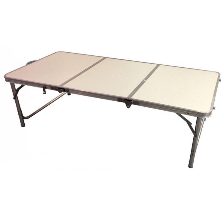 Tavolo pieghevole in plastica