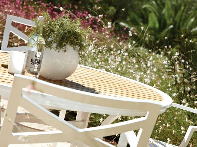 Tavolo legno bianco