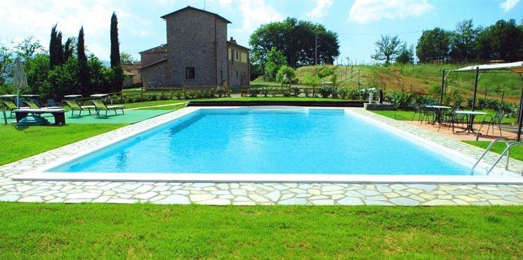 Modello di piscina