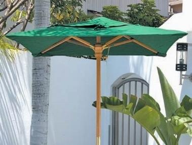 Ombrellone da giardino verde for Brandine pieghevoli torino