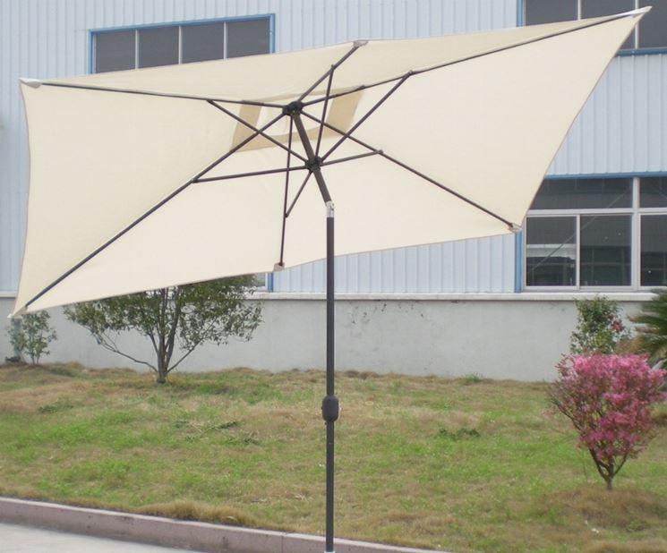 Ombrelloni in alluminio ombrelloni da giardino - Ombrelloni da giardino 3x2 ...