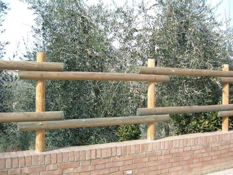 Modelli di recinzioni in legno recinzioni recinzioni in legno - Palizzate in legno per giardino ...