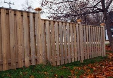 Recinzioni da giardino in legno