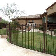 recinzioni giardino ferro