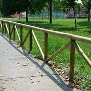 Recinzione in legno classica