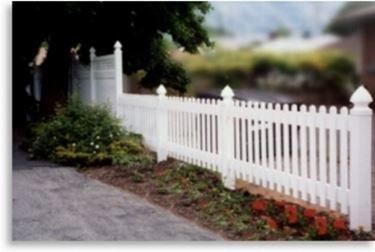 Steccato Da Giardino In Pvc : Steccati per giardino in plastica recinzioni giardino tutte le