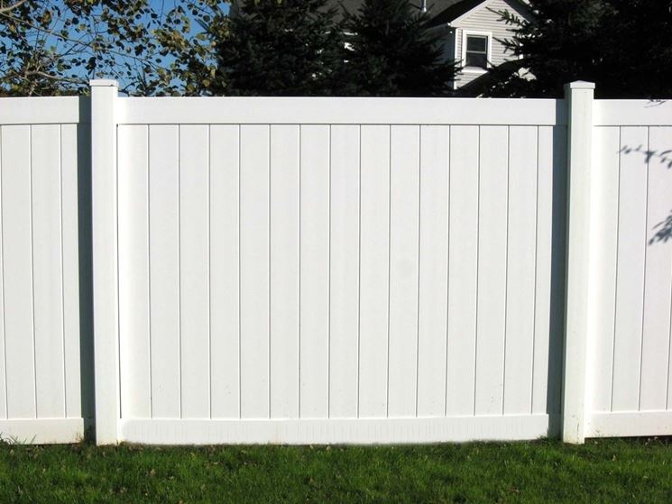 Steccato Giardino Plastica : Recinzioni in pvc recinzioni tipologie di recinzioni in pvc