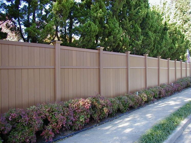 Steccato Per Giardino In Pvc : Recinzioni in pvc recinzioni tipologie di recinzioni in pvc