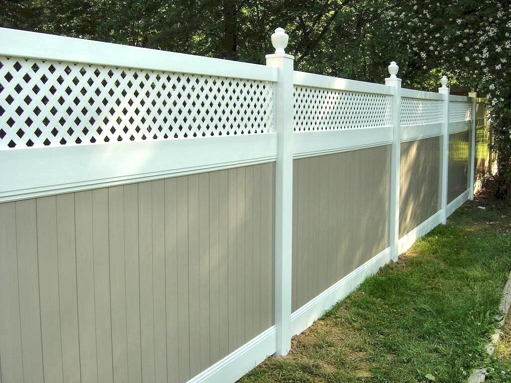 Recinzioni in pvc recinzioni for Opzioni materiale esterno casa