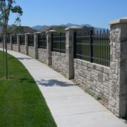 esempio di recinzione prefabbricata