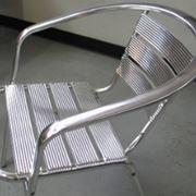 Sedie da giardino in alluminio