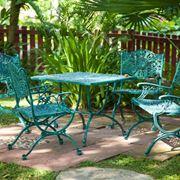 esempio di sedie in ferro da giardino