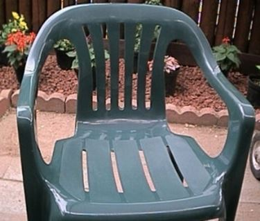 Sedia da giardino in resina