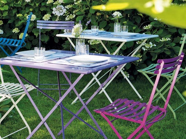 Sedie per giardino tavoli da giardino sedie per il giardino