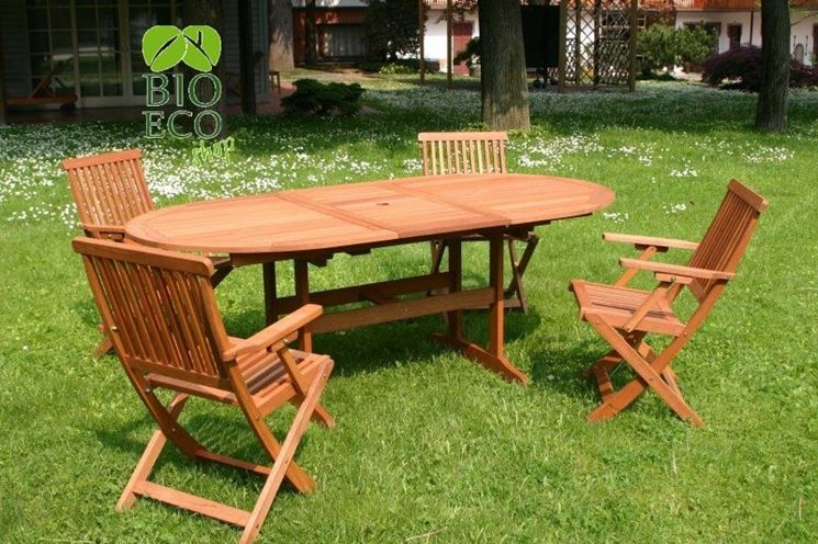 Sedie per giardino tavoli da giardino sedie per il - Sedie giardino legno ...