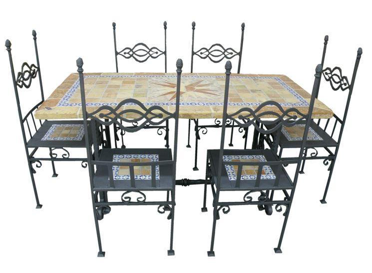 Sedie per giardino tavoli da giardino sedie per il giardino - Mobili da giardino in ferro ...