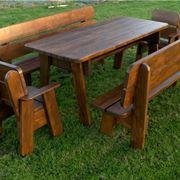 tavolo economico in pino