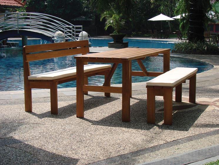 Tavoli da esterno tavoli da giardino tavoli per - Tavolino esterno ...