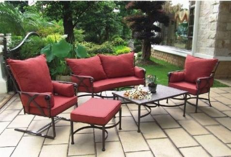 Tavoli da giardino in ferro tavoli da giardino - Set da giardino ferro battuto ...