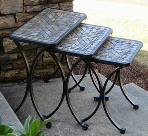 Tavoli da giardino in ferro zincato mobilia la tua casa - Tavoli ferro battuto da esterno ...