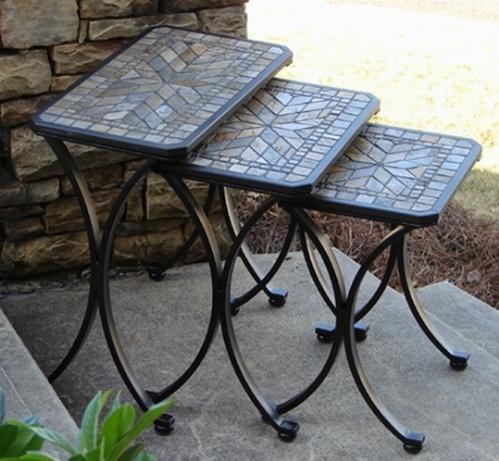 tavoli da giardino in ferro tavoli da giardino