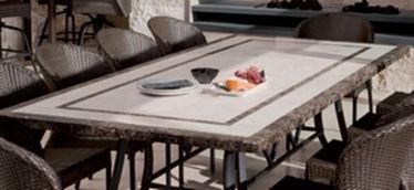 Tavoli da giardino in pietra tavoli da giardino - Tavolo giardino mosaico prezzi ...