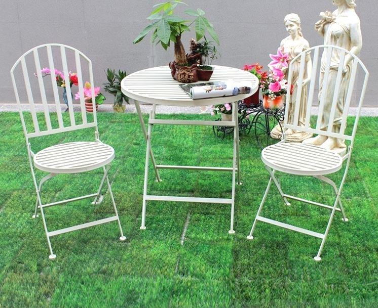 Offerte tavoli da giardino in metallo ~ Mobilia la tua casa