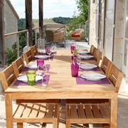 Tavolo da terrazzo in legno