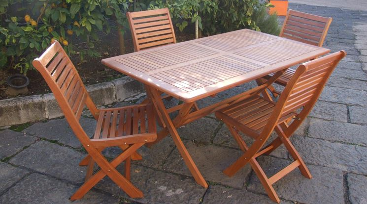 Tavoli pieghevoli da esterno tavoli da giardino tavoli - Tavolo pieghevole da giardino ...