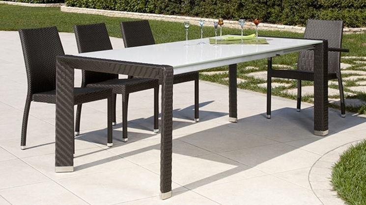 Tavolo da esterno - Tavoli da giardino - tavolo per ...