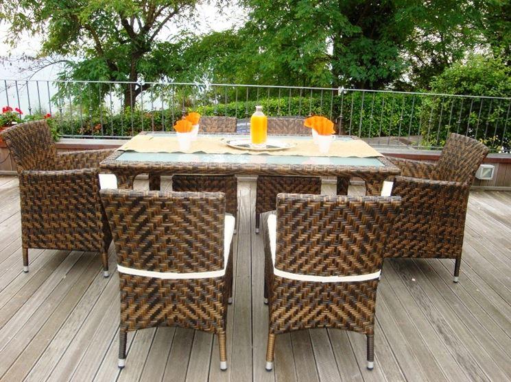 Tavolo da esterno tavoli da giardino tavolo per - Tavolino esterno ...