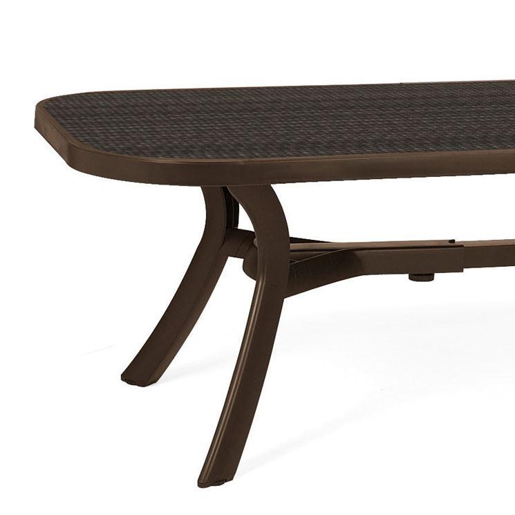 Tavolo per esterno tavoli da giardino tavoli per - Armadietti per esterno in plastica ...