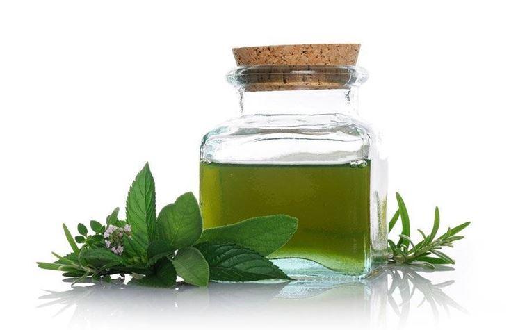 Esempio di olio essenziale di menta