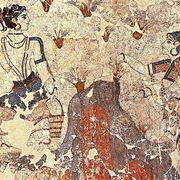 Raccoglitori di zafferano (Santorini)