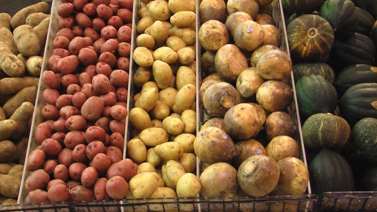 Diverse variet� di patate