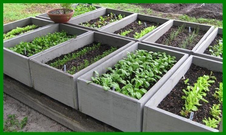 Orto in giardino ortaggi orto giardino - L orto in giardino ...