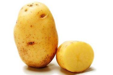 patata tagliata a metà