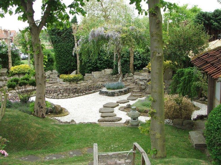 Un esempio di giardino giapponese