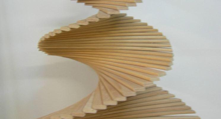 Alberi di natale moderni in legno