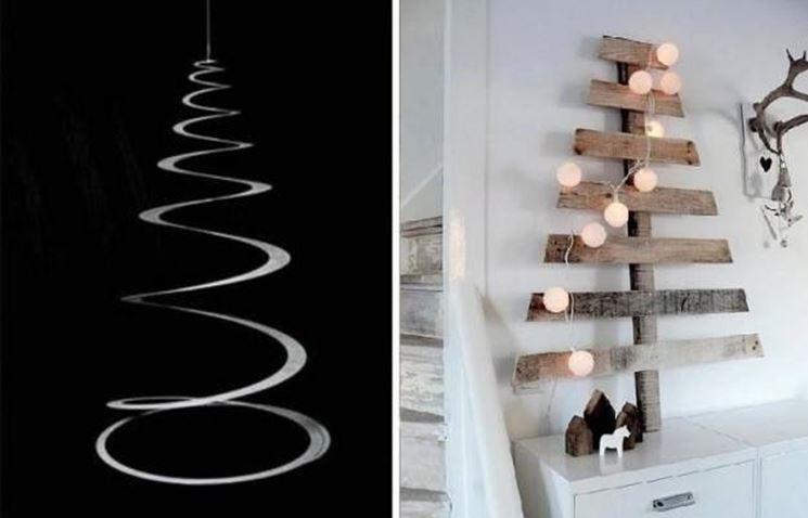 Alberi di natale moderni piante appartamento alberi di for Piante appartamento design